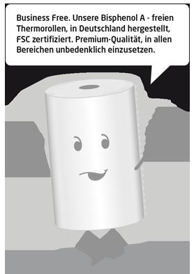 Rouleaux thermiques sans BPA