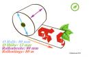 40 rouleaux thermiques 80x80x12, 80 m, sans bisphénol-A (BPA), avec le «A» rouge des pharmacies (Apotheken)